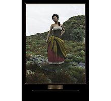 A peasant girl Photographic Print