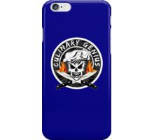 Skull Chef 2: Culinary Genius 2 iPhone Case/Skin