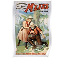 Performing Arts Posters A sumptuous revival of Bret Hartes beautiful story Mliss 1312 Poster