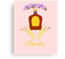 Crown Royalty Canvas Print