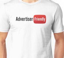Advertiser Friendly   YouTube Shirt Unisex T-Shirt