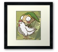 Invader Link Framed Print