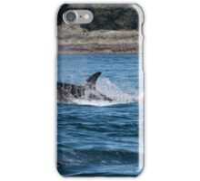 Orca young female iPhone Case/Skin