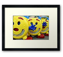 Tripletts Framed Print