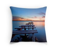 The Gloaming -Cleveland Point Qld Throw Pillow