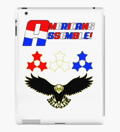 Americans Assemble iPad Case/Skin
