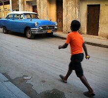 Street scene in Old Havana, Cuba by Keith Molloy