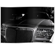 Supercharged 6.1L Chrysler 300C SRT8 Poster