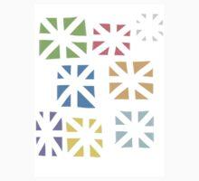 Colourful Star Design One Piece - Short Sleeve