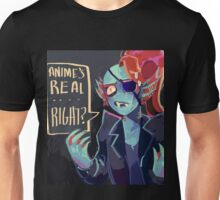 Undertale - Undyne - ANIME'S REAL .... RIGHT? Unisex T-Shirt