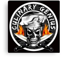 Skull Chef 3: Culinary Genius 2 Canvas Print