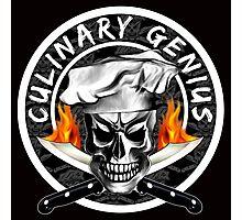 Skull Chef 3: Culinary Genius 2 Photographic Print