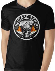 Skull Chef 3: Culinary Genius 2 Mens V-Neck T-Shirt