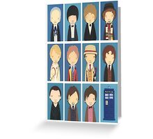 THE DOCTOR's Greeting Card