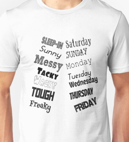 The Week Unisex T-Shirt