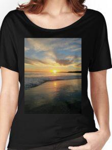 Malibu Beach Sunset Women's Relaxed Fit T-Shirt
