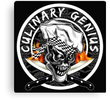Skull Chef 5: Culinary Genius 2 Canvas Print