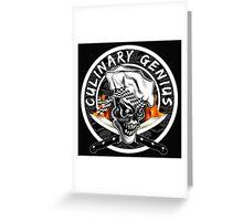 Skull Chef 5: Culinary Genius 2 Greeting Card