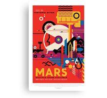 Mars - Visit the Historic Sites Canvas Print