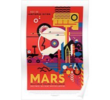 Mars - Visit the Historic Sites Poster