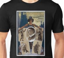 Performing Arts Posters Robt B Mantell assisted by Miss Marie Booth Russell and a company of players in classic and romantic productions 0181 Unisex T-Shirt