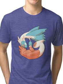 Latios and Latias Tri-blend T-Shirt