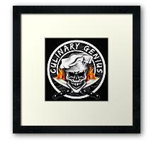 Skull Chef 6: Culinary Genius 2 Framed Print
