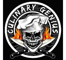 Skull Chef 6: Culinary Genius 2 Photographic Print