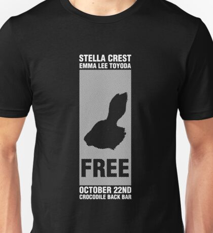 Stella Crest - 10/22/16 Show Tee Unisex T-Shirt