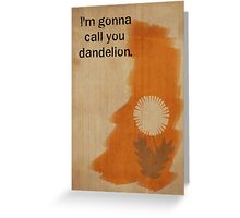 Orange is the New Black inspired design (Crazy Eyes - 2/2) Greeting Card