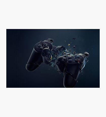 Hardcore Gamer PS4 Photographic Print