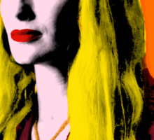 Mozart and Marie Game of Thrones Queen Cersei as Warhol's Marilyn Sticker