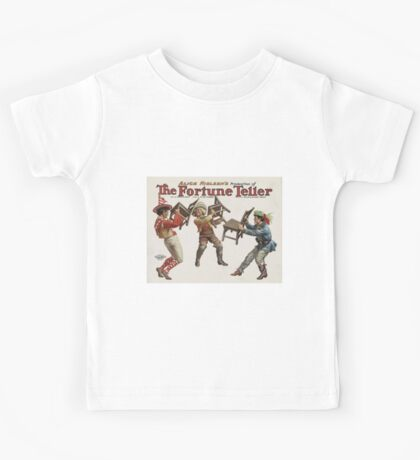 Performing Arts Posters Alice Nielsons production of The fortune teller 0062 Kids Tee