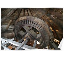 Cley Windmill machinery Poster