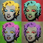 Vampire Marilyn set of 4 by filippobassano