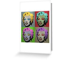 Vampire Marilyn set of 4 Greeting Card