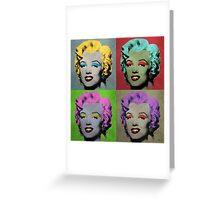 Vampire Marilyn set of 4 Greeting Card