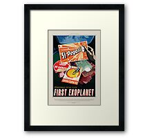 51 Pegasi b - Greeting From Your First Exoplanet Framed Print