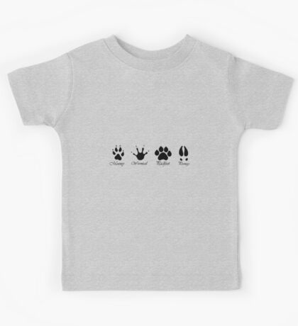 Moony, Wormtail, Padfoot and Prongs Kids Tee