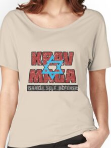 Israeli Krav Maga Magen David Women's Relaxed Fit T-Shirt