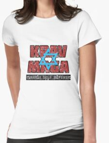 Israeli Krav Maga Magen David Womens Fitted T-Shirt