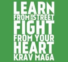 Learn from the street Krav Maga Kids Tee