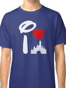 I Heart Castle (white) Classic T-Shirt