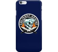 Skull Chef 8: Culinary Genius 2 iPhone Case/Skin