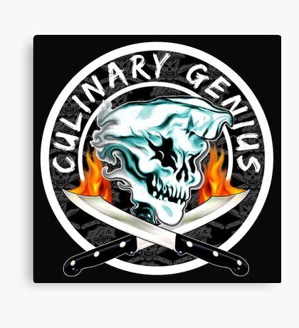 Skull Chef 8: Culinary Genius 2 Canvas Print