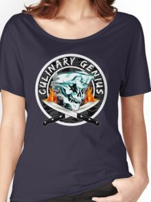 Skull Chef 8: Culinary Genius 2 Women's Relaxed Fit T-Shirt