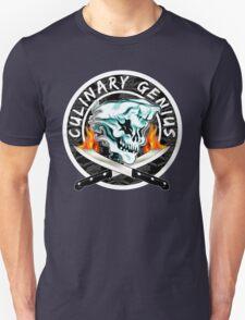 Skull Chef 8: Culinary Genius 2 Unisex T-Shirt
