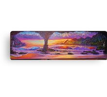 Majesties Purple Sunset Canvas Print