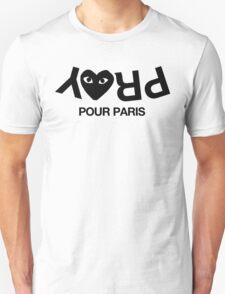 CDG Pray for Paris Unisex T-Shirt