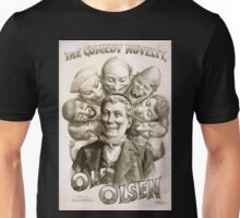 Performing Arts Posters The comedy novelty Ole Olson 1803 Unisex T-Shirt